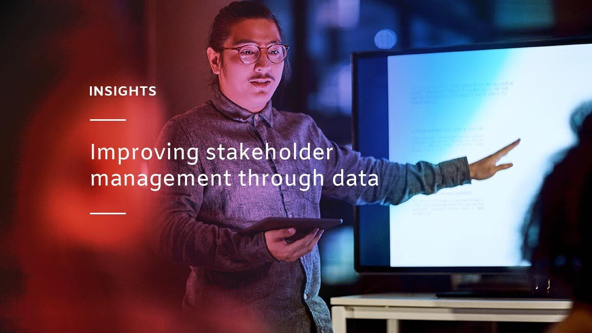 Data and stakeholder management