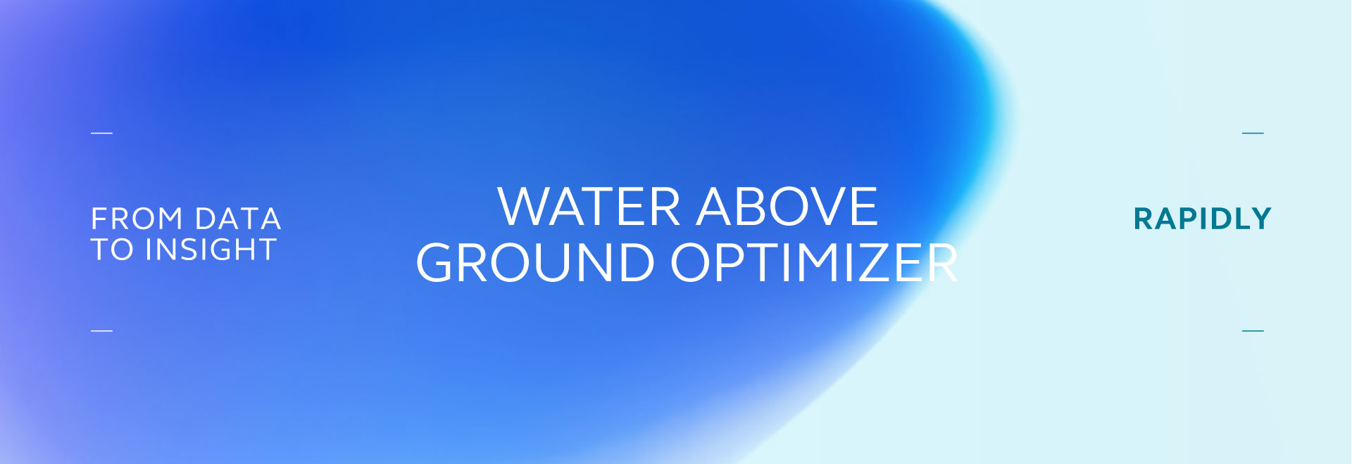 Water Above Ground Optimizer